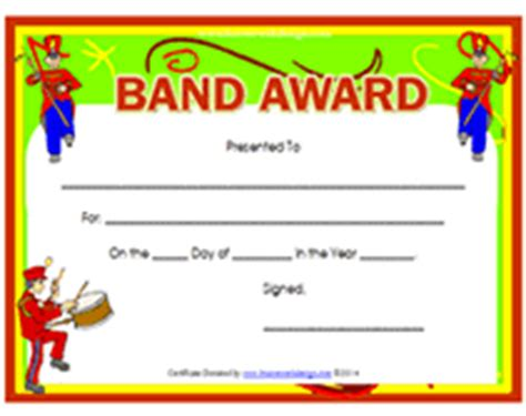 well done certificate template printable band award certificates templates
