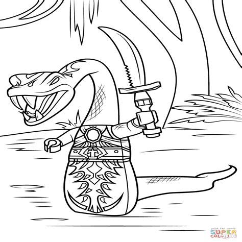 ninjago anacondrai coloring pages kleurplaat ninjago zane