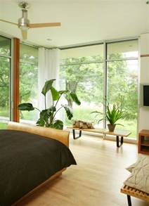 Plants For Bedroom Window How To Decorate A Room With Floor To Ceiling Windows