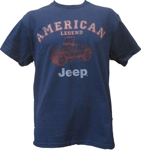 Tshirt Only In A Jeep Smlxl Imbong all things jeep jeep american legend t shirt blue small only
