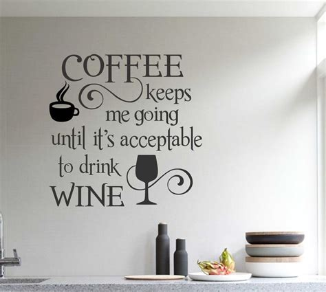 kitchen wall quote stickers 25 best ideas about kitchen decals on kitchen wall quotes kitchen wall sayings and