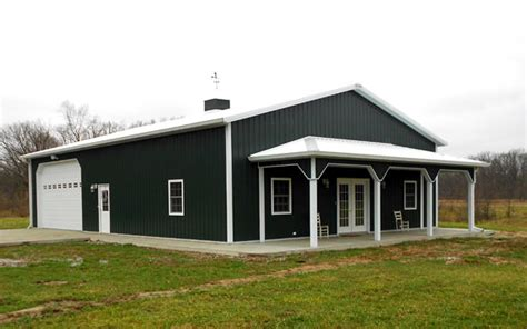 Country House With Wrap Around Porch by 5 Metal Building Homes That Will Make You Want One Hq