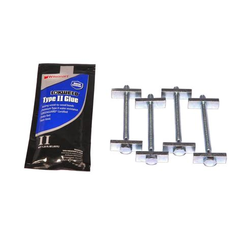 Miter Bolts Countertops by Hton Bay 60 In Marbella Brecca Nouvelle Starter With
