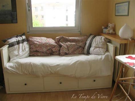 lit canapé ikea salon cuir marron fonce