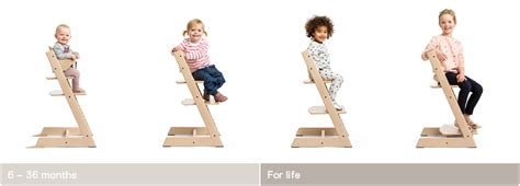 Comfortable Stool The Original Tripp Trapp 174 High Chair For Babies From Stokke