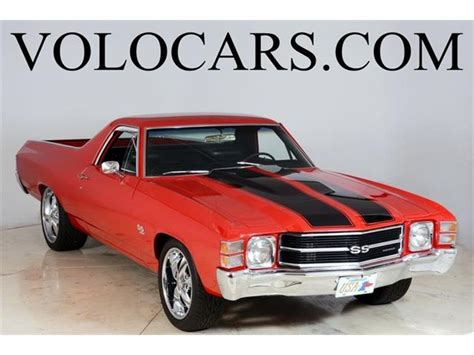 chevrolet ss el camino 1971 chevrolet el camino ss for sale on classiccars