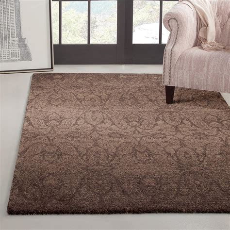 sams area rugs sams international chelsea chocolate 5 ft 3 in x 7 ft 6 in area rug 3509 5x8 the home depot