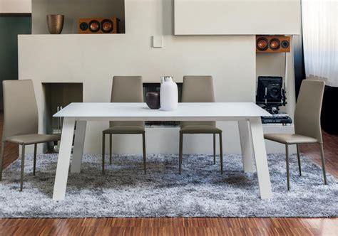 ingenia tavoli tavolo allungabile kalua di ingenia bontempi con struttura