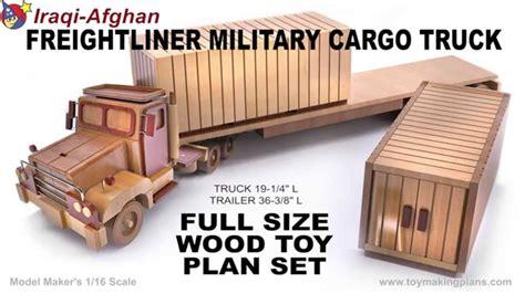 wood toy plans iraqi afghan miitary truck youtube