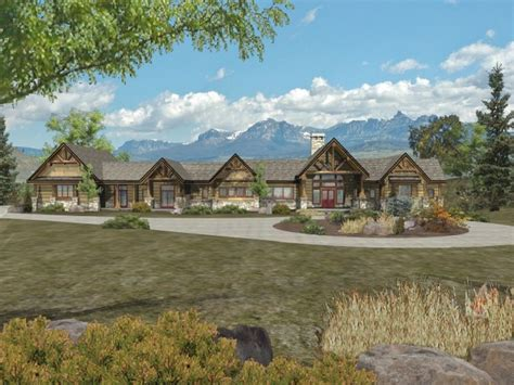 ranch style log homes mountain ranch style home plans ranch log homes floor plans luxury mountain log homes