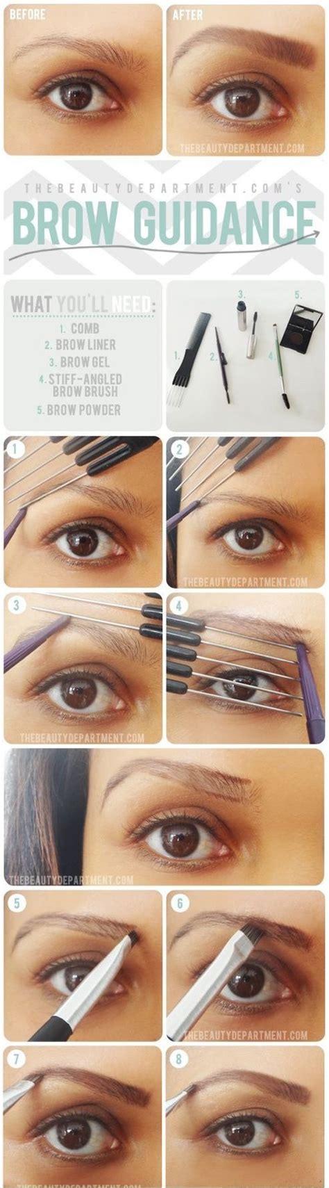 tutorial makeup untuk beginner 1000 ideas about eyebrow makeup tutorials on pinterest