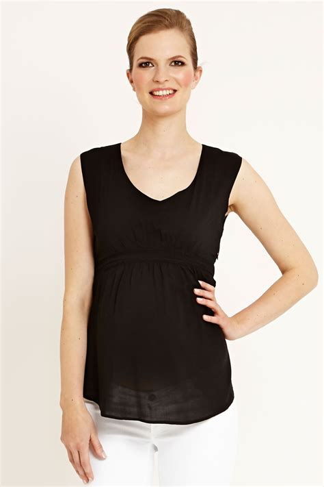 sleeveless top arizona v neck sleeveless top in viscose in 4 colours