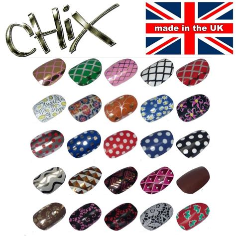 printable vinyl ebay salon quality professional nail wraps foils stickers vinyl