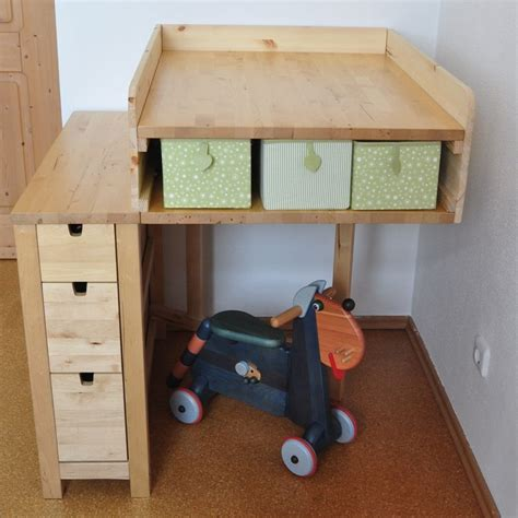 ikea hack norden folding table as changing table oh
