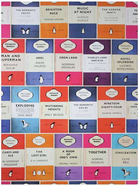 Penguin Library Wallpaper