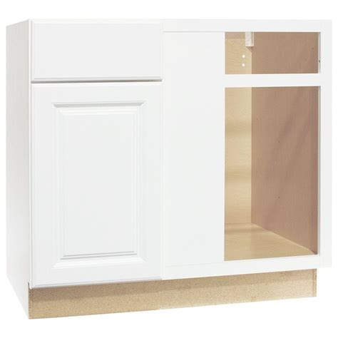 assembled 36x34 5x24 in sink base kitchen cabinet in hton bay shaker assembled 36x34 5x24 in sink base