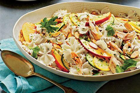 delicious summer pasta salad summer pasta salad with lime vinaigrette quick