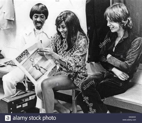 ike tina turner ike tina turner us rock duo with mick jagger about 1968