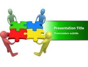 team work in organization powerpoint templates ppt slides