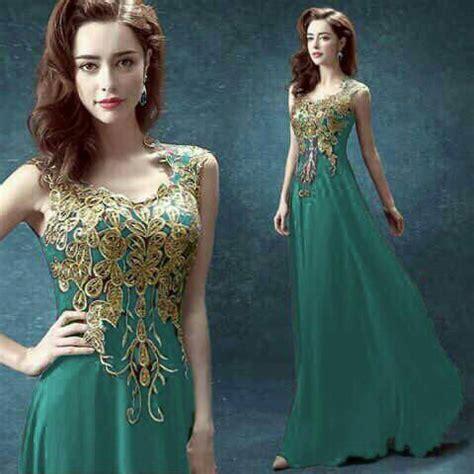 2240 Longdress Black Lengan Buntung baju maxi dress renda cantik model terbaru murah