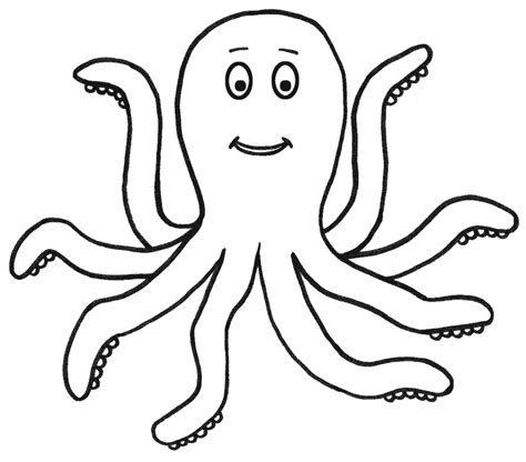 Coloring Page Octopus by Pictures Of Octopus Coloring Home