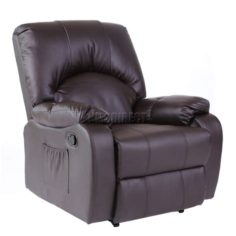 massage and heat recliner foxhunter leather massage cinema recliner sofa chair