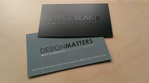 Matte Black Business Card Template by Matte Black Business Cards Design Image Collections Card