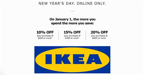 Ikea Gift Card Online Canada - ikea canada sale up to 20 off canadian freebies coupons deals bargains flyers