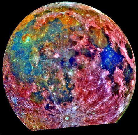 colors of the moon file moon false color mosaic jpg wikimedia commons