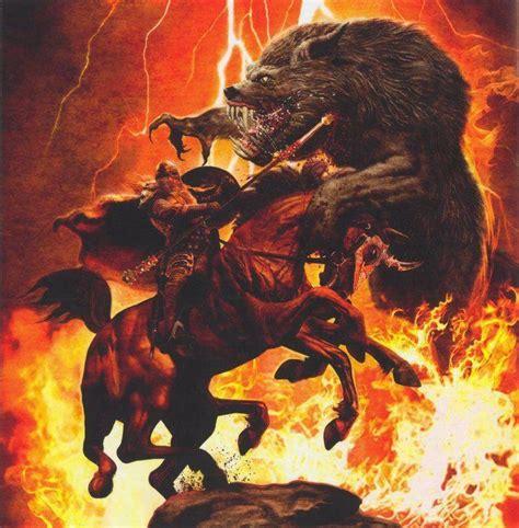 si鑒e de tyr fenrir vs odin fenriswolf