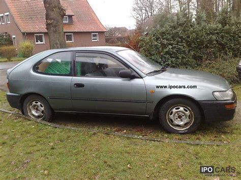 1993 Toyota Specs 1993 Toyota Corolla 1 4 Xli Car Photo And Specs