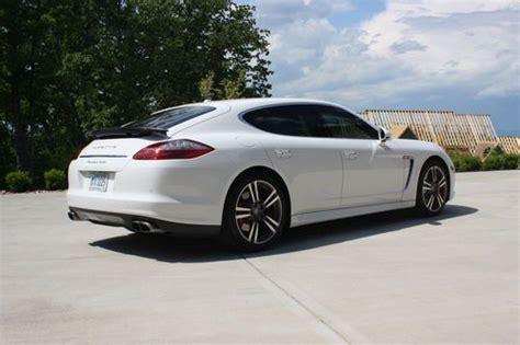 White 4 Door Porsche Panamera by Buy Used 2011 Porsche Panamera Turbo Hatchback 4 Door 4 8l