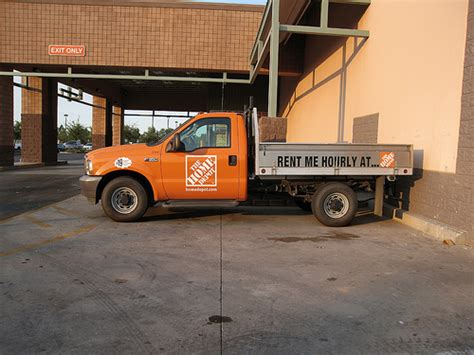 up truck rental home depot