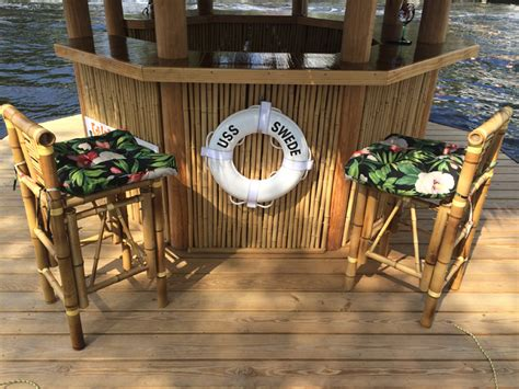 Motorized Tiki Bar This May Be The Coolest Way To Chill On Water This Summer