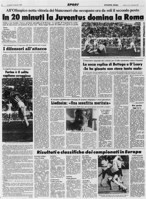 1979/80 Roma Juventus