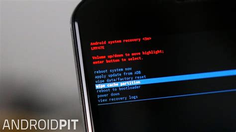 android system recovery how to factory reset the galaxy s3 for improved performance androidpit