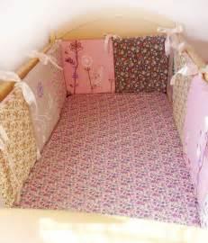 Baby Crib Pad Baby Crib Bumper Pad Pink Crib Bumpercrib Rail Cover Baby