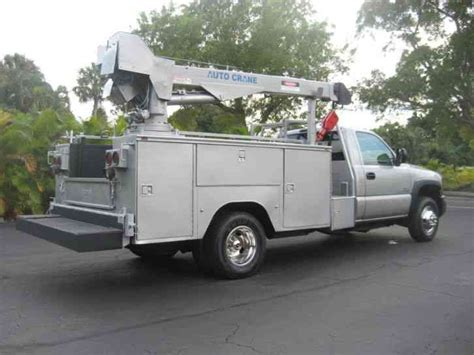 gmc 3500 2004 utility service trucks