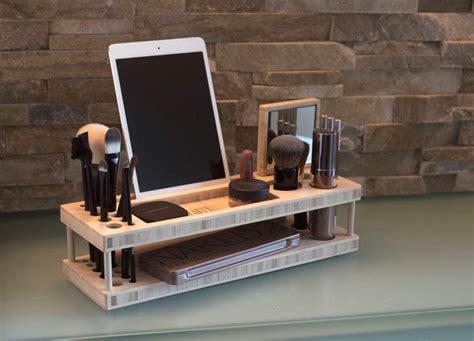 Desk Into Vanity A Countertop Worthy Makeup Organizer Plein Vanity