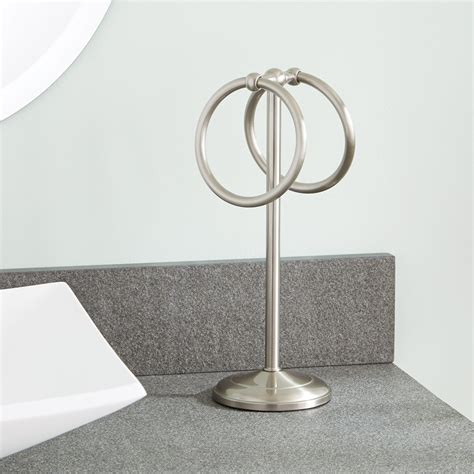 drummond countertop towel ring towel holders bathroom