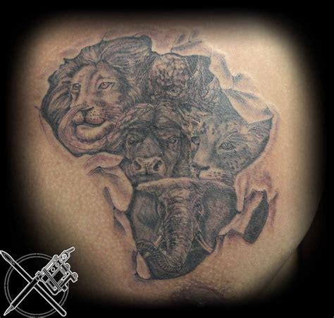 tattoo ink south africa the big 5 tattoos pinterest grey ink tattoos tattoo