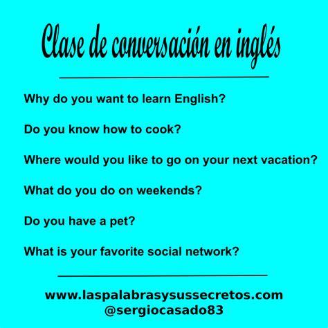 preguntas frecuentes para aprender ingles las palabras y sus secretos preguntas para la clase de