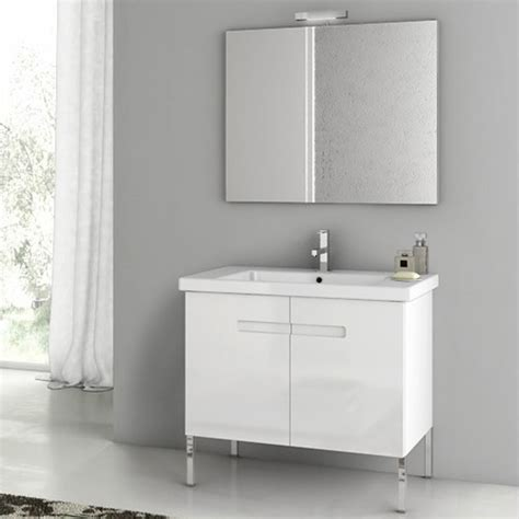 bathroom vanities ny modern 32 inch new york vanity set with ceramic sink matt canapa zuri furniture