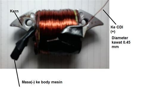 Modifikasi Kiprok Vespa by Wahyu Redha Modifikasi Sistem Pengapian Platina Ke
