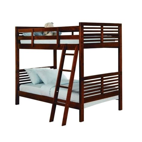 Cherry Bunk Beds by Trent Home Paula Ii Bunk Bed In Cherry B1348 1