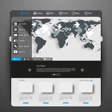 Coreldraw Website Creator Templates Popteenus Com Corel Website Creator Templates Free