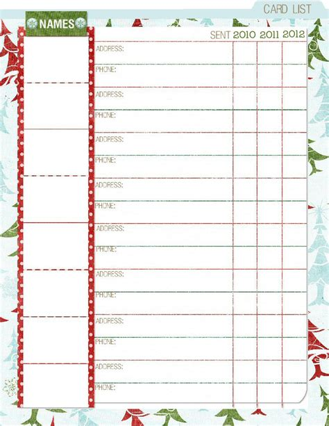 printable christmas organiser paper crafting obsession christmas planner free printable