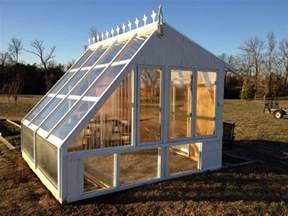 How To Build A Backyard Greenhouse Build A Gorgeous Greenhouse From Old Windows Diy