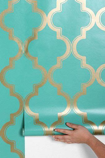 temporary wall paper marrakesh honey removable wallpaper urban outfitters
