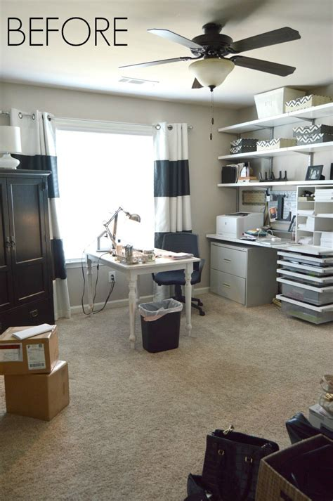 one room challange one room challenge home office makeover reveal kelley nan